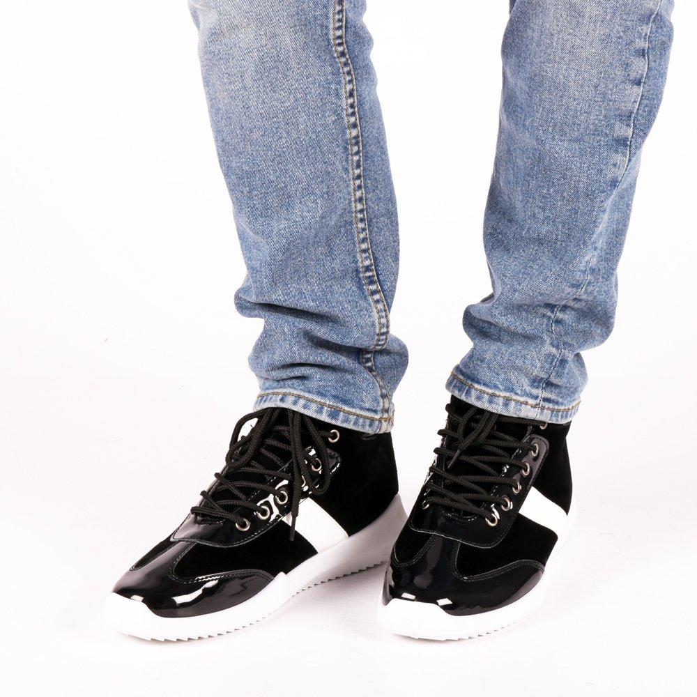 Pantofi sport barbati Lewis negri